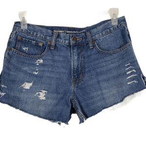 Old Navy Jean Shorts Boyfriend Cut Off